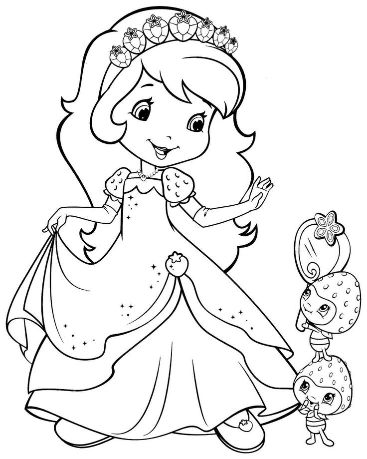 Girl Cartoon Coloring Pages  Coloring Pages For Teenage Girl at GetColorings