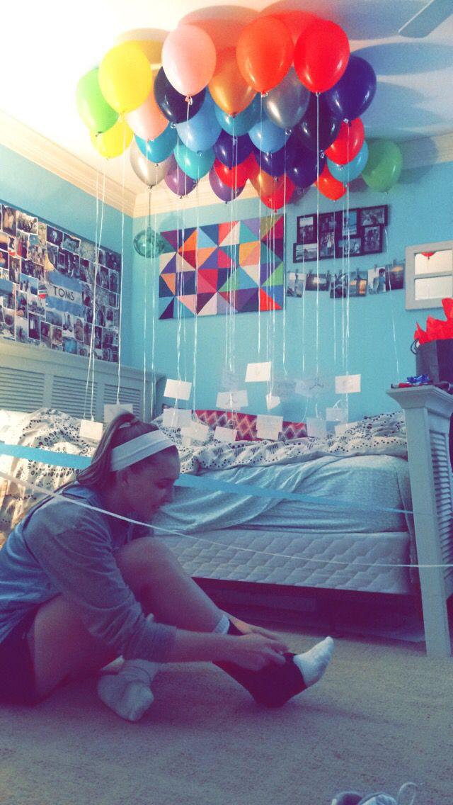 Girlfriend Birthday Gift Ideas Reddit  Lewes Delaware Birthday Balloon Surprise