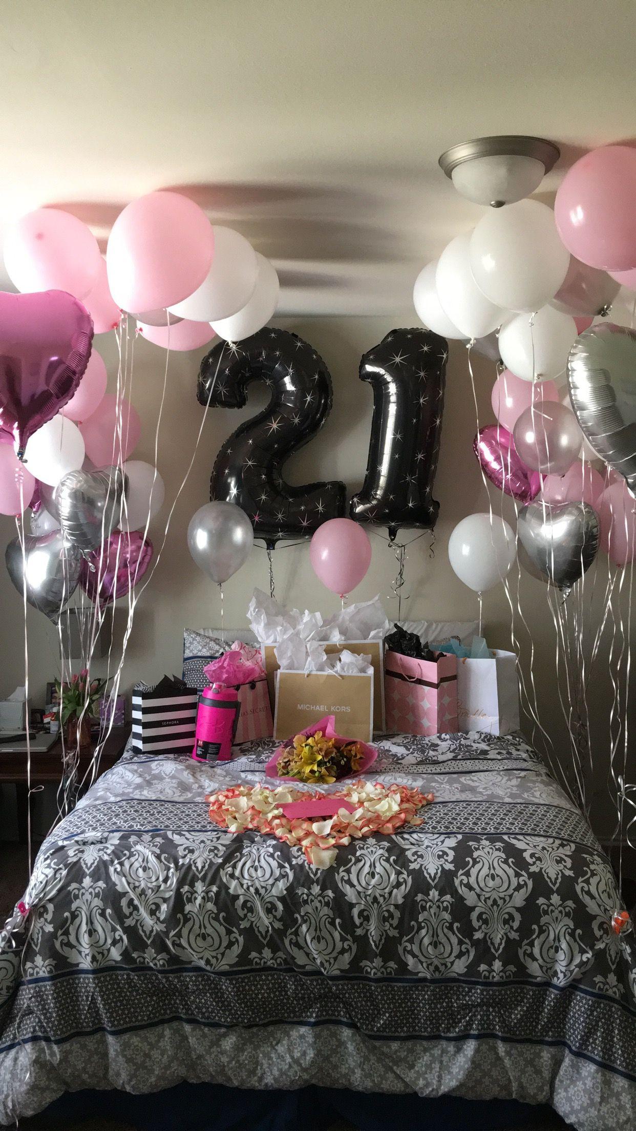 Girlfriend Birthday Gift Ideas Reddit  21st Birthday surprise Girlfriends Birthday