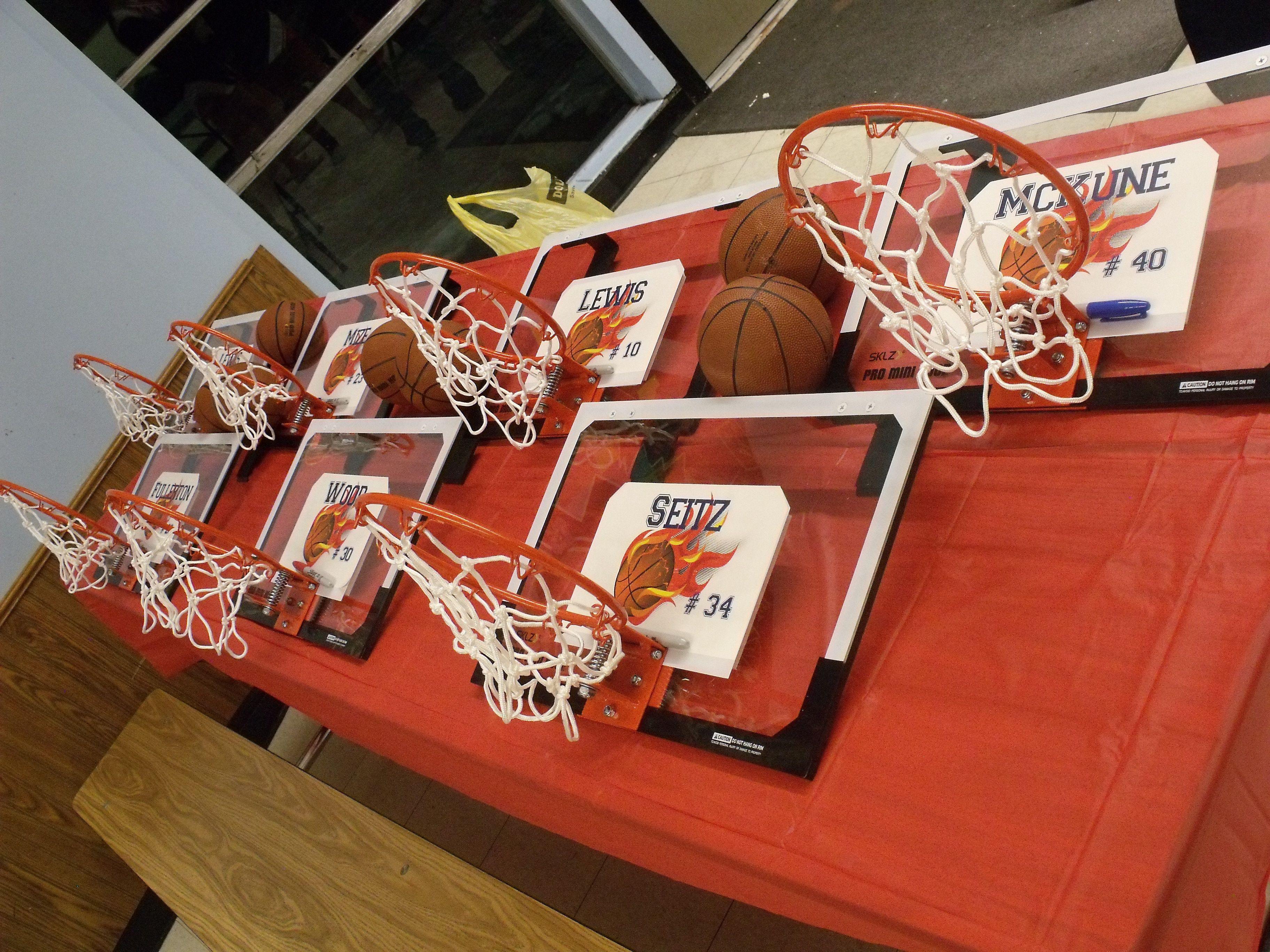 Girls Basketball Gift Ideas  Basketball Senior Night Gift Idea Hoops ordered from SKLZ