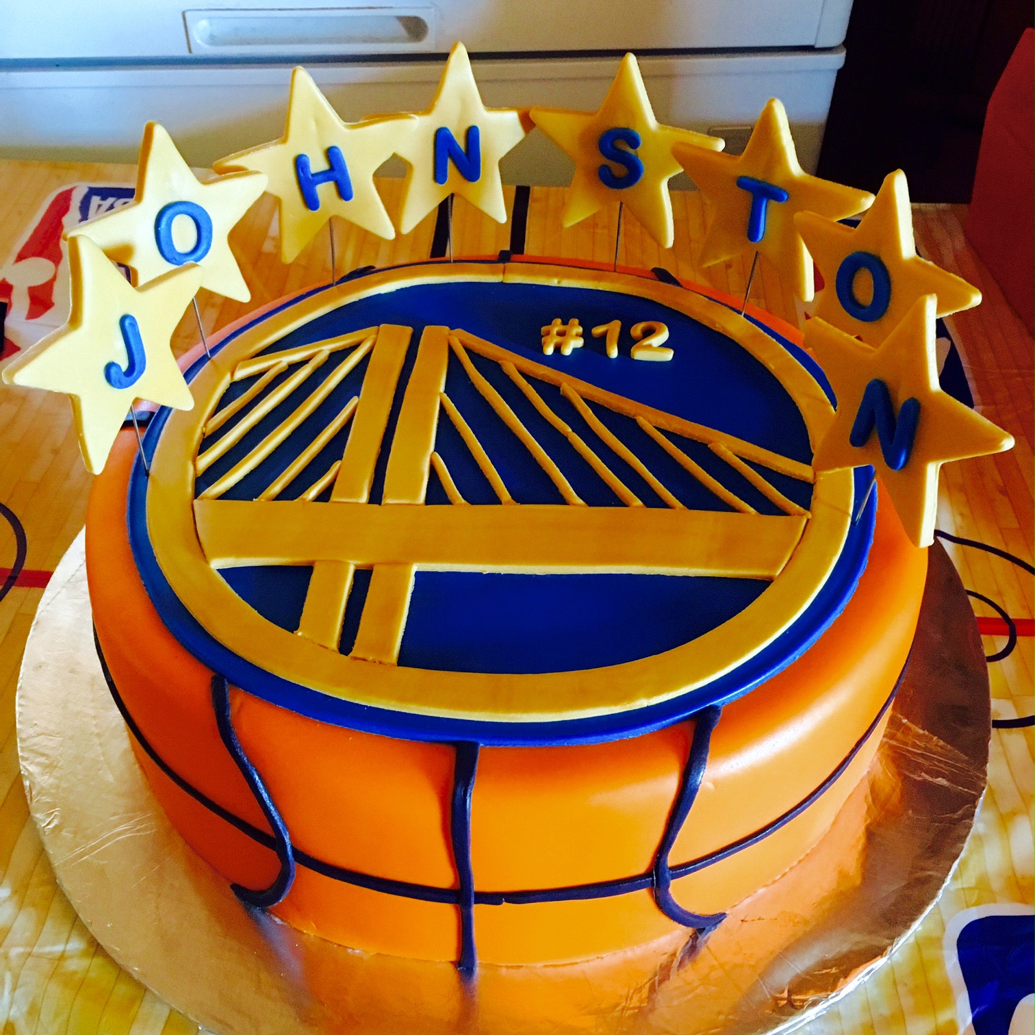 Golden State Warriors Birthday Cake  Golden State Warriors – Whitewater Cakes