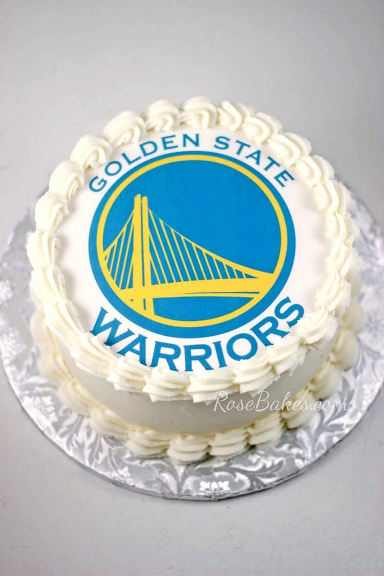 Golden State Warriors Birthday Cake  Sometimes things just away from you I made 11