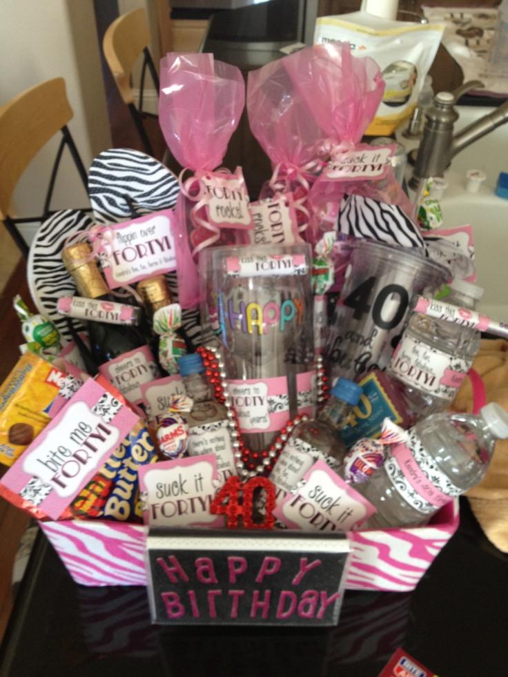 Good 40Th Birthday Gifts  40th birthday t r my cuz Ken