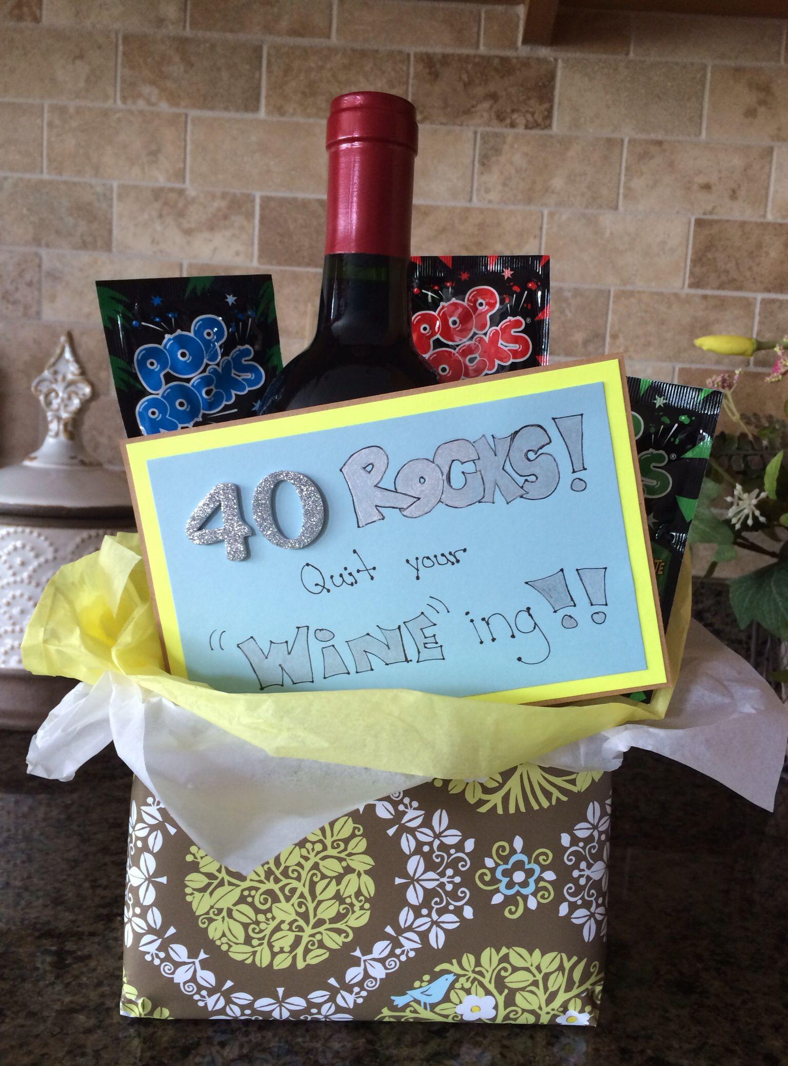 Good 40Th Birthday Gifts  40th birthday t idea Creative t ideas