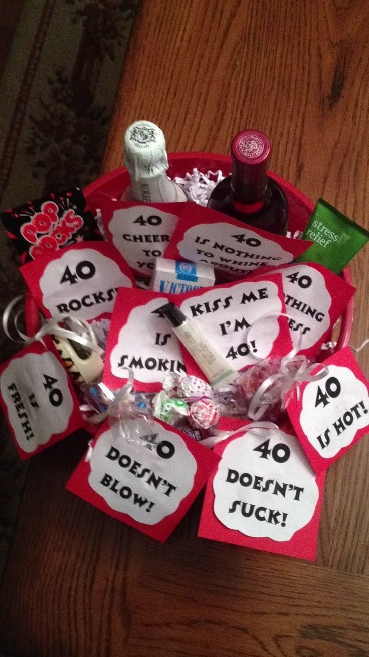 Good 40Th Birthday Gifts  Best 25 40th birthday ts ideas on Pinterest