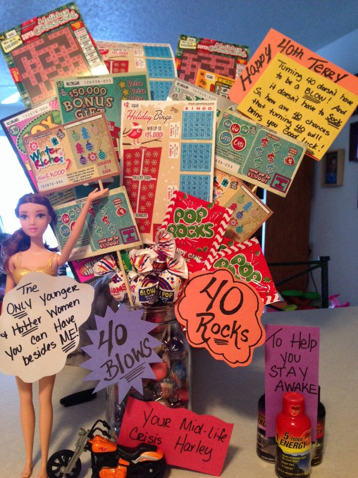 Good 40Th Birthday Gifts  17 Best images about 40 birthday ideas on Pinterest