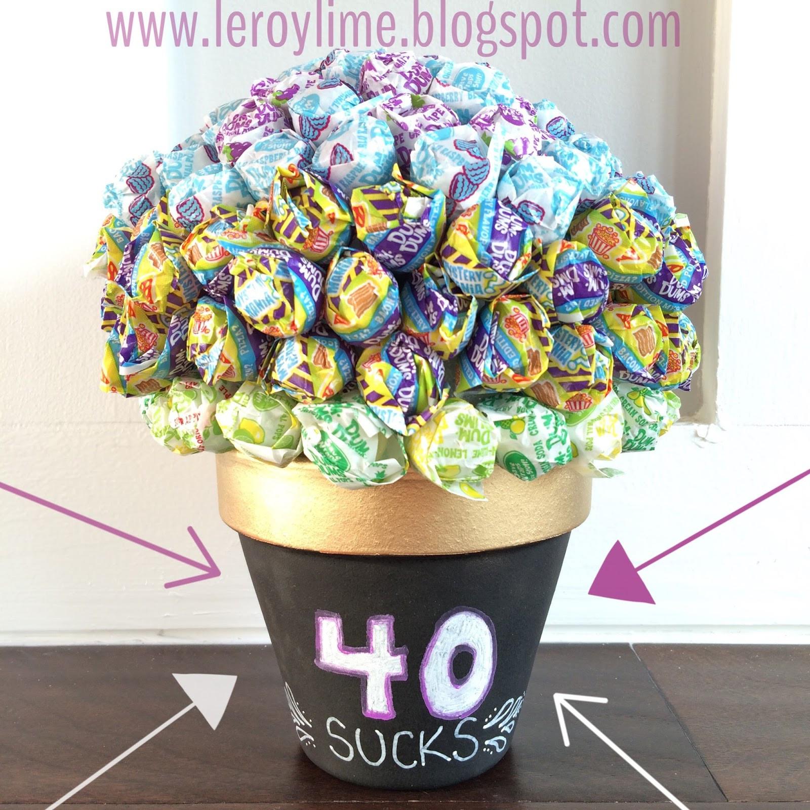 Good 40Th Birthday Gifts  LeroyLime 40th Birthday Gift Idea