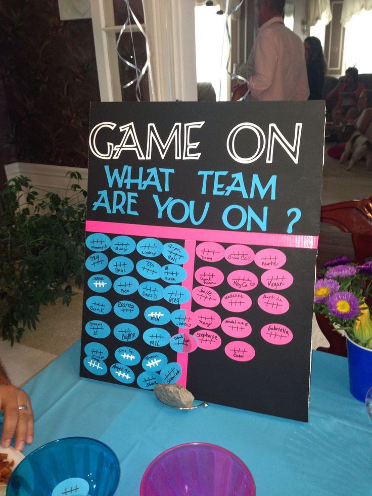 Good Ideas For Gender Reveal Party  Best 25 Gender reveal parties ideas on Pinterest