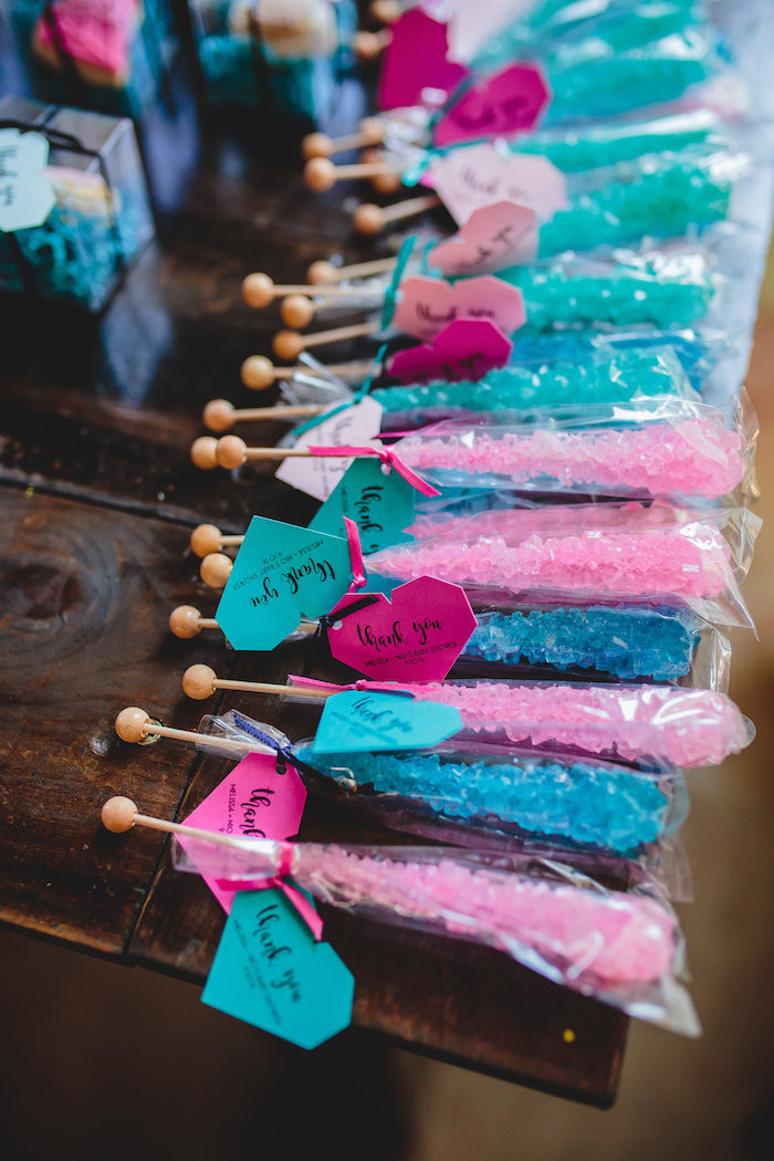 Good Ideas For Gender Reveal Party  Kara s Party Ideas Geometric Gender Reveal Baby Shower