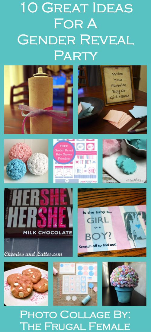 Good Ideas For Gender Reveal Party  10 Great Gender Reveal Party Ideas