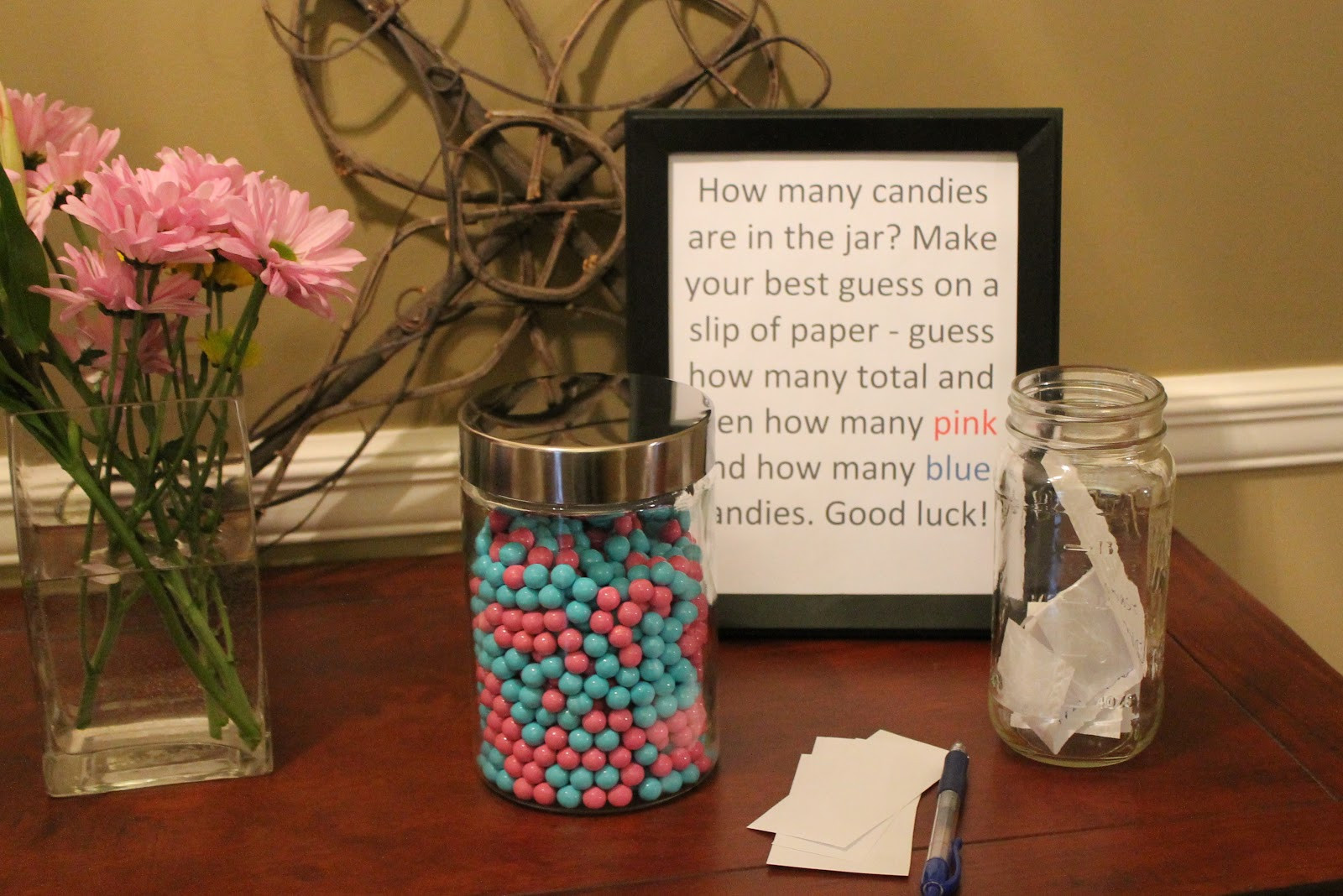 Good Ideas For Gender Reveal Party  Burlap With Lace It s Gender Reveal Time