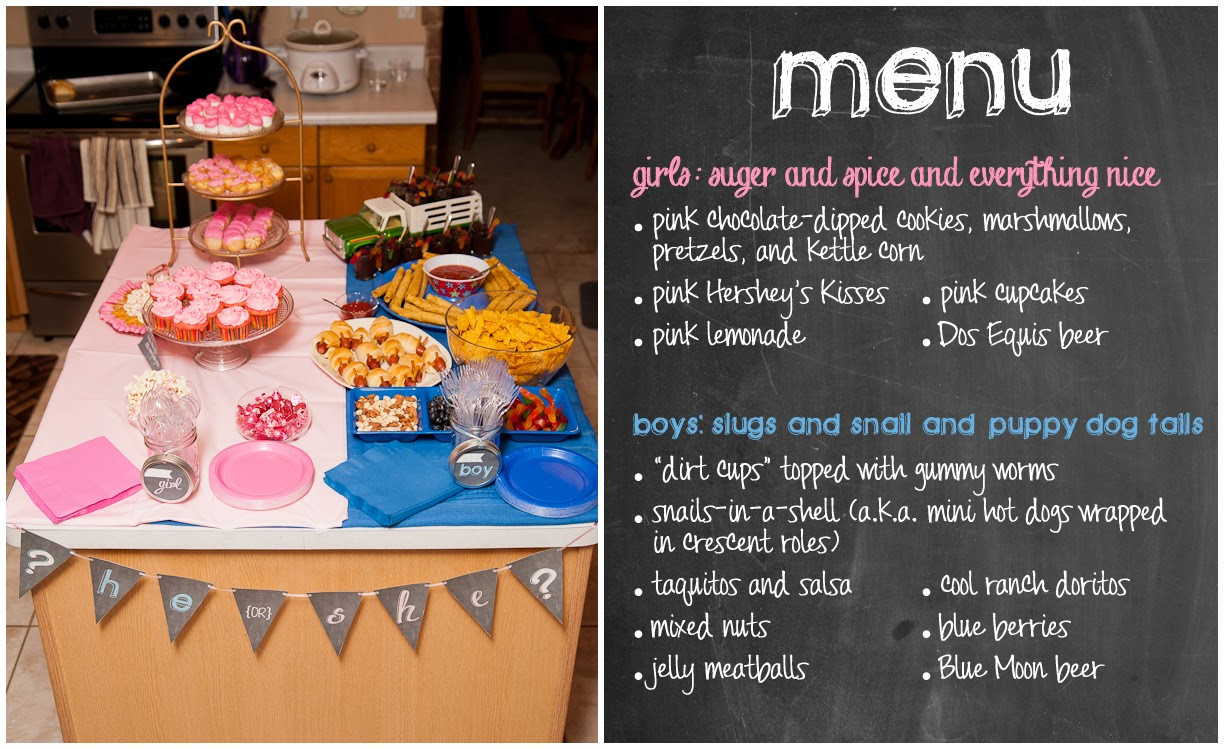 Good Ideas For Gender Reveal Party  Nothings and Notions from my Noodle Gender Reveal Party