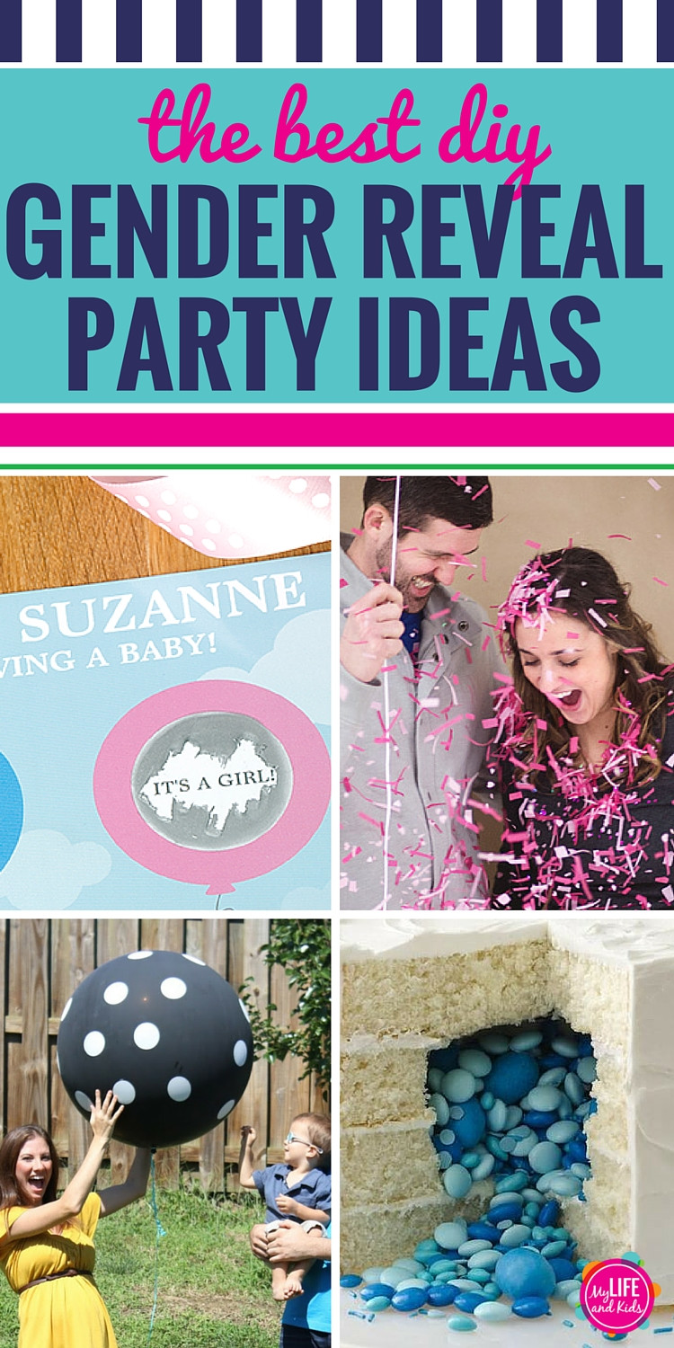 Good Ideas For Gender Reveal Party  The Best DIY Gender Reveal Party Ideas