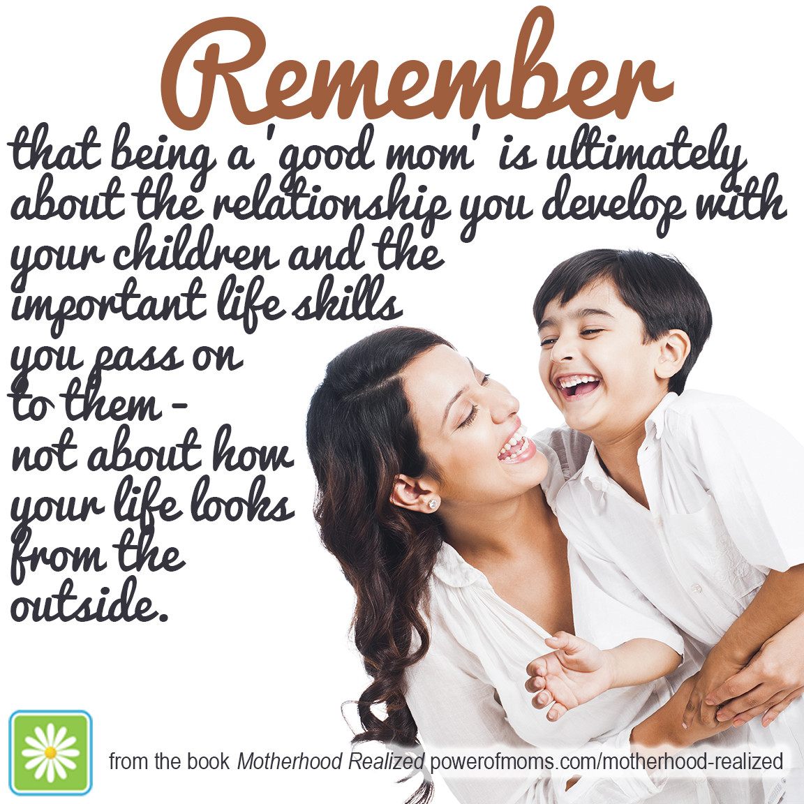 Good Mother Quotes  Motherhood Realized 1 Bestseller You Don t Want to Miss
