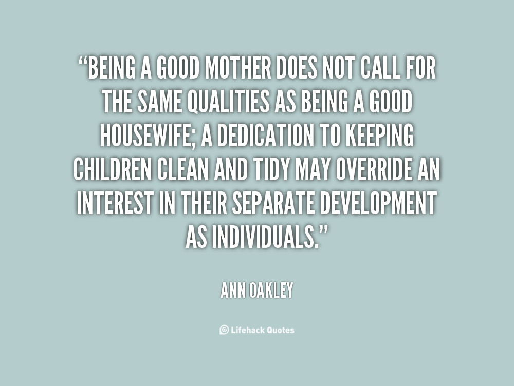 Good Mother Quotes  GOOD MOM QUOTES image quotes at hippoquotes