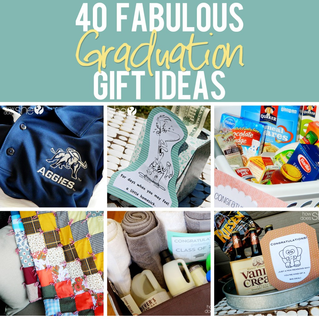 Graduation Gift Ideas College  40 Fabulous Graduation Gift Ideas The best list out there