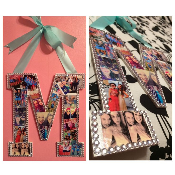 Graduation Gift Ideas For Friends  Made this photo letter as a graduation t for my best