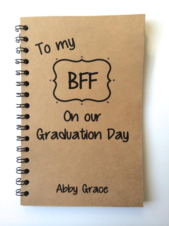 Graduation Gift Ideas For Friends  Best Friend Gift Graduation Gift BFF Class of 2016