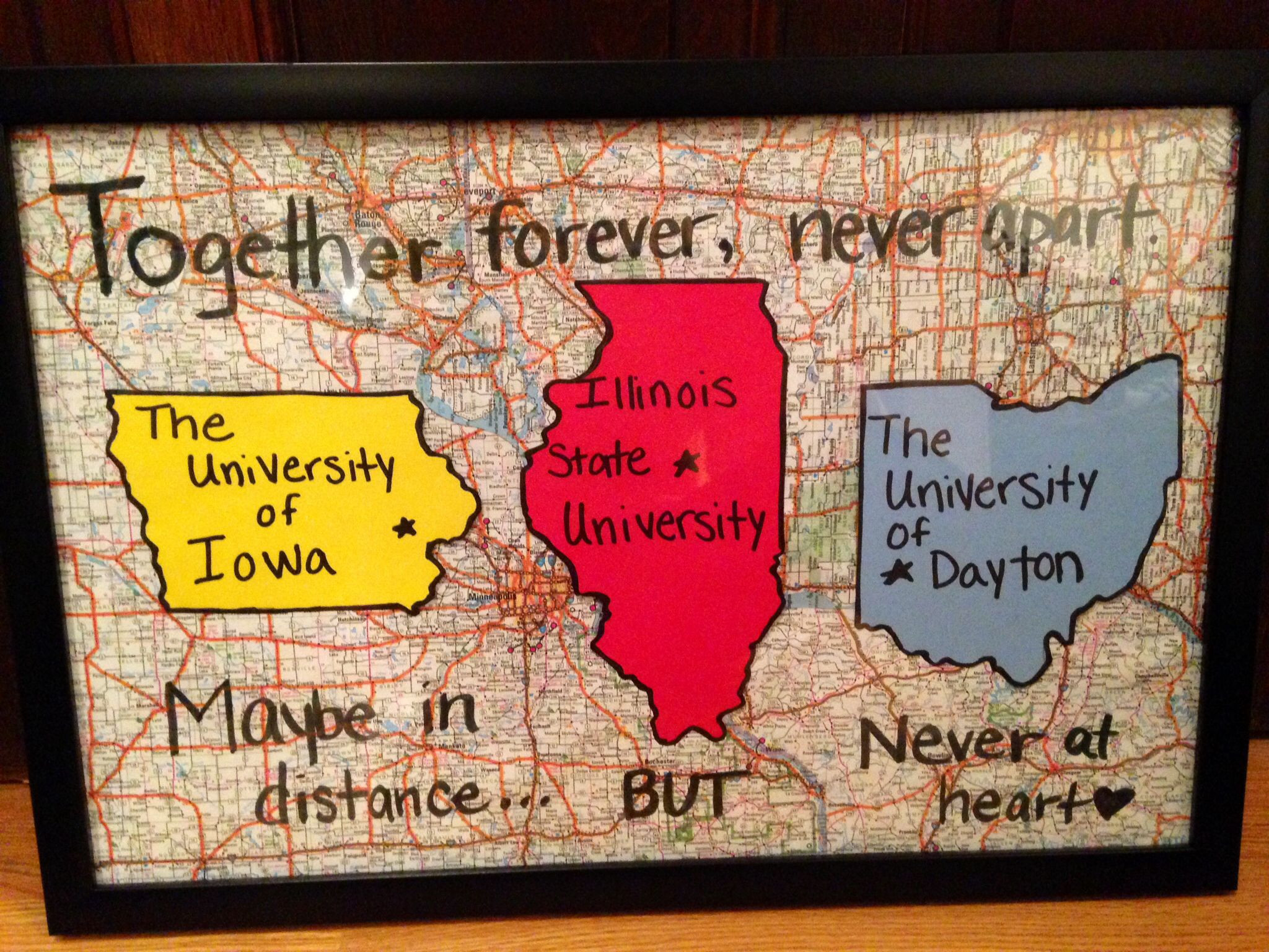 Graduation Gift Ideas For Friends  Graduation t For friends that are going away to