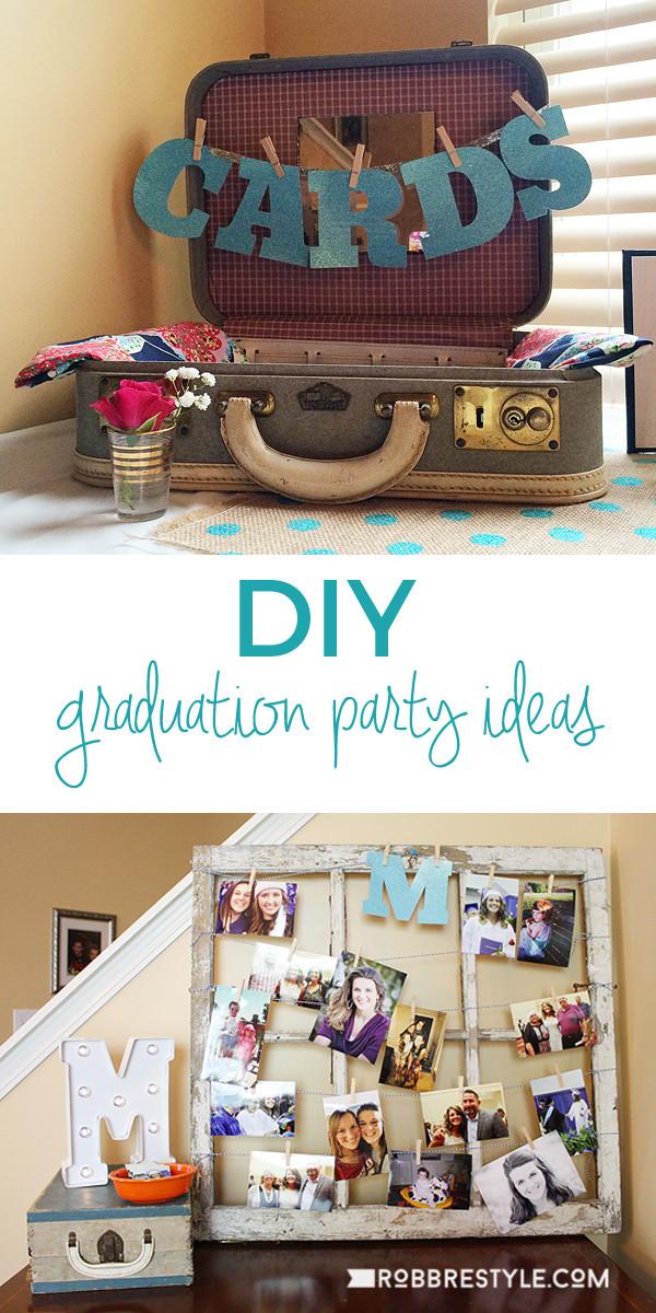 Graduation Party Decoration Ideas Diy  DIY Graduation Party Ideas