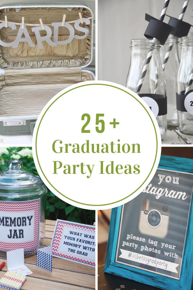 Graduation Party Decoration Ideas Diy  DIY Graduation Party Ideas The Idea Room