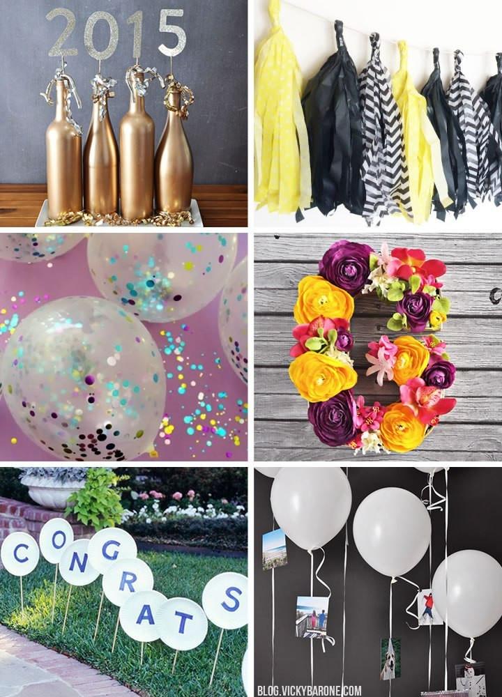 Graduation Party Decoration Ideas Diy  Diy Graduation Party Decorations
