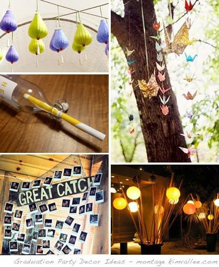 Graduation Party Decoration Ideas Diy  DIY Graduation Party Decor Ideas At Home with Kim Vallee