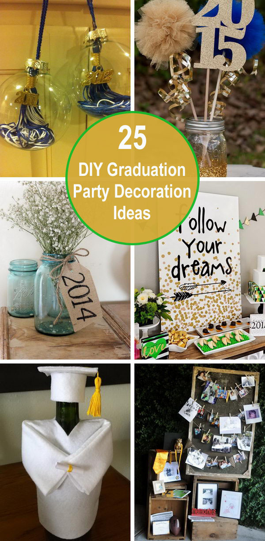 Graduation Party Decoration Ideas Diy  25 DIY Graduation Party Decoration Ideas