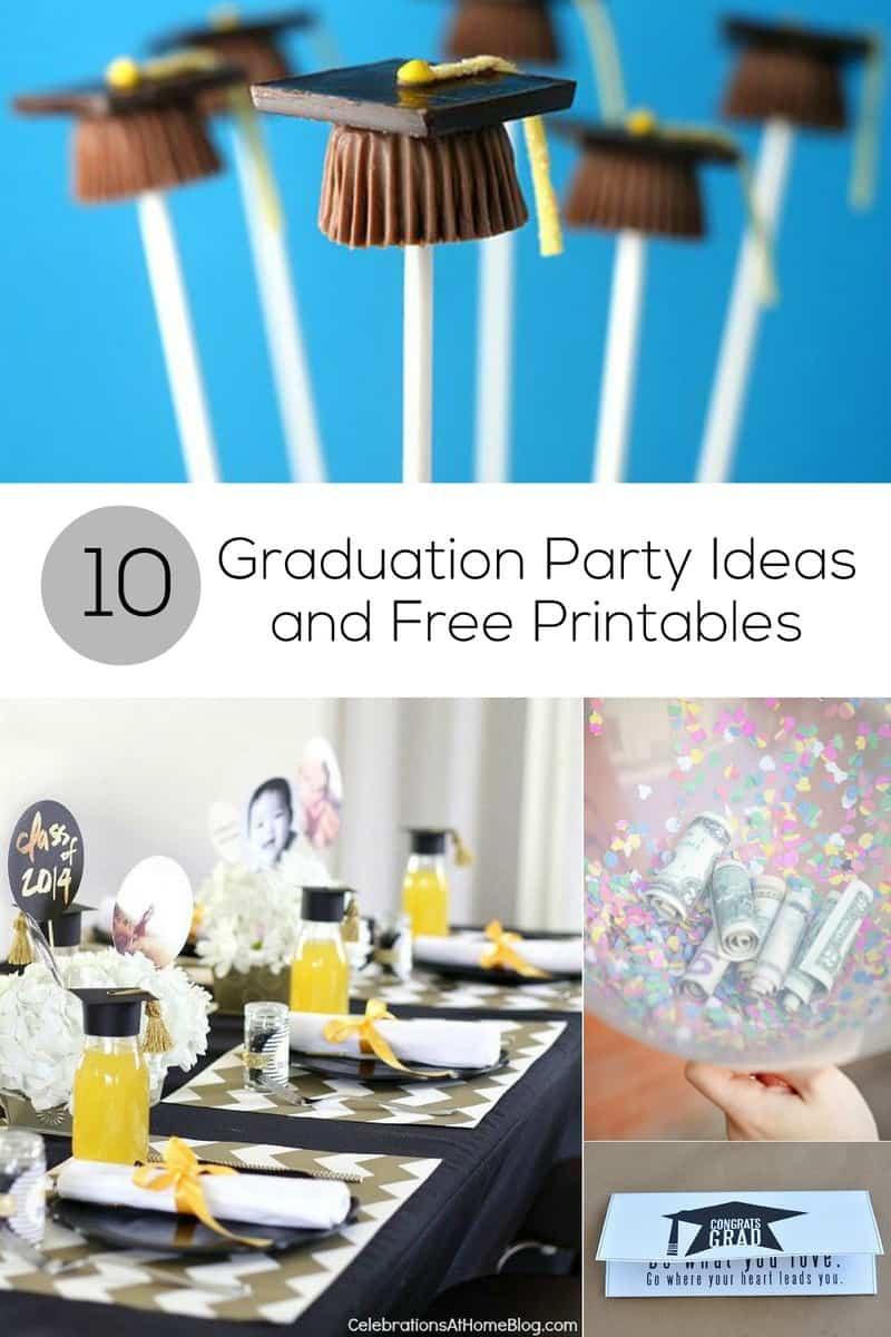 Graduation Party Decoration Ideas Diy  10 Graduation Party Ideas and Free Printables for Grads