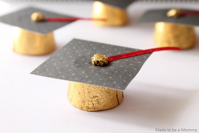 Graduation Party Favor Ideas  Make Rolo Graduation Cap Favors Dollar Store Crafts