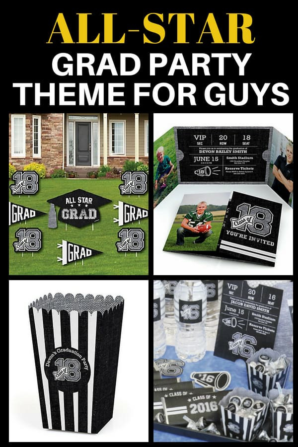 Graduation Party Ideas For Guys  Graduation Party Themes 2019 Festive High School College