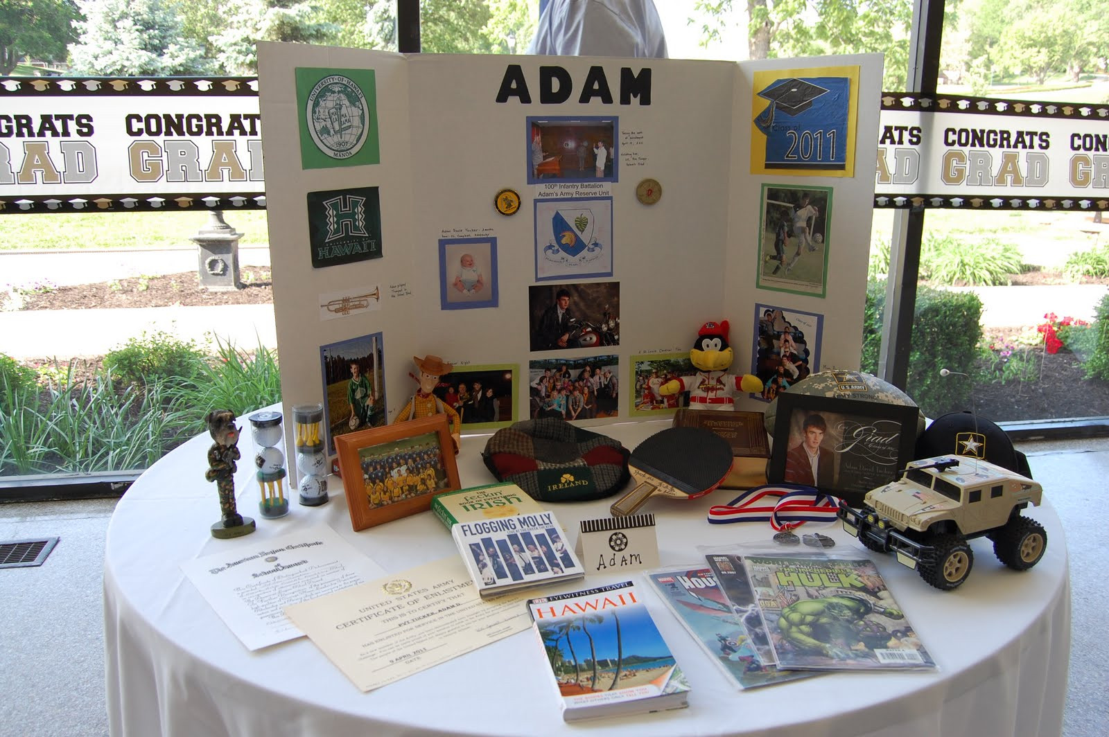 Graduation Party Ideas For Guys  The Tucker Troops Where Past Meets Present Part VI