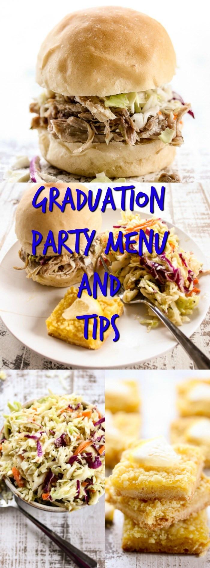 Graduation Party Menu Ideas  Graduation Party Menu and Tips Lisa s Dinnertime Dish