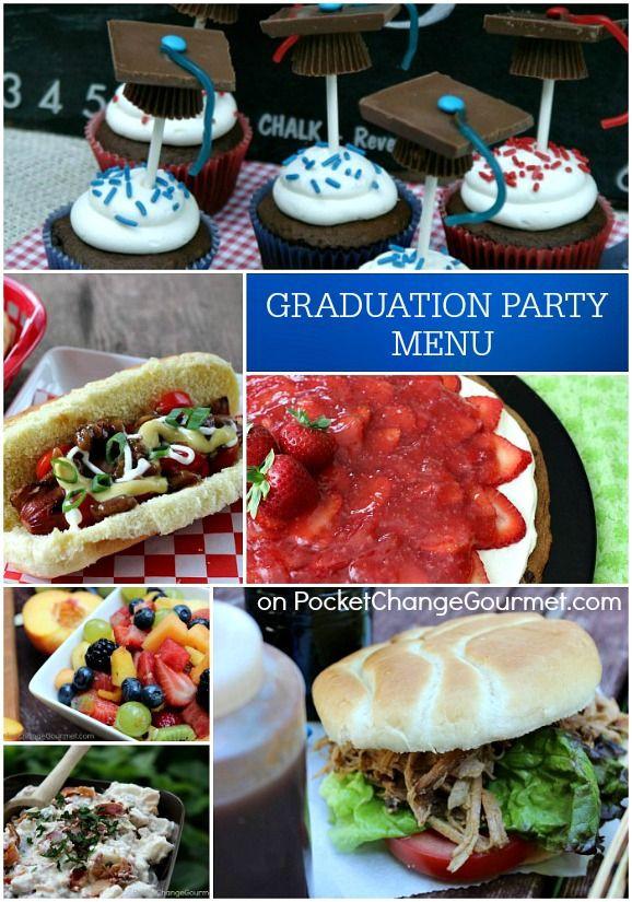 Graduation Party Menu Ideas  100 best images about graduation planning on Pinterest