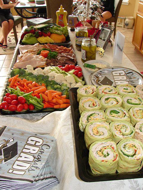 Graduation Party Menu Ideas  25 best ideas about Graduation Party Foods on Pinterest