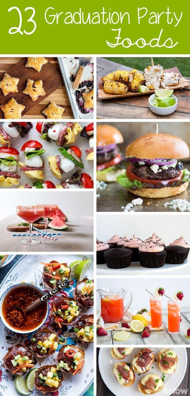 Graduation Party Menu Ideas  Best 25 Graduation party foods ideas on Pinterest
