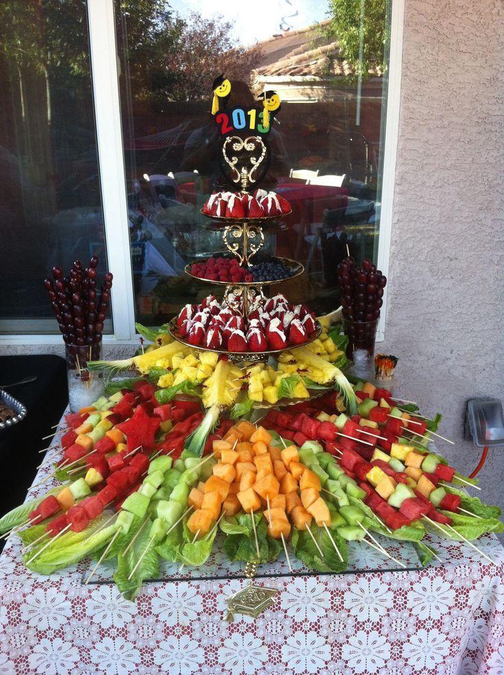 Graduation Party Menu Ideas  Best 25 Picture display party ideas on Pinterest