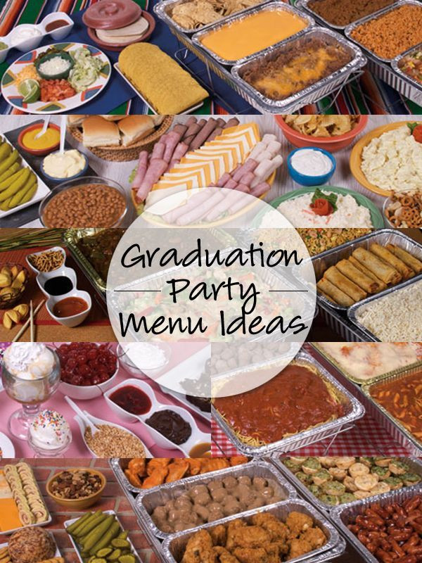 Graduation Party Menu Ideas  1000 ideas about 8th Grade Graduation on Pinterest