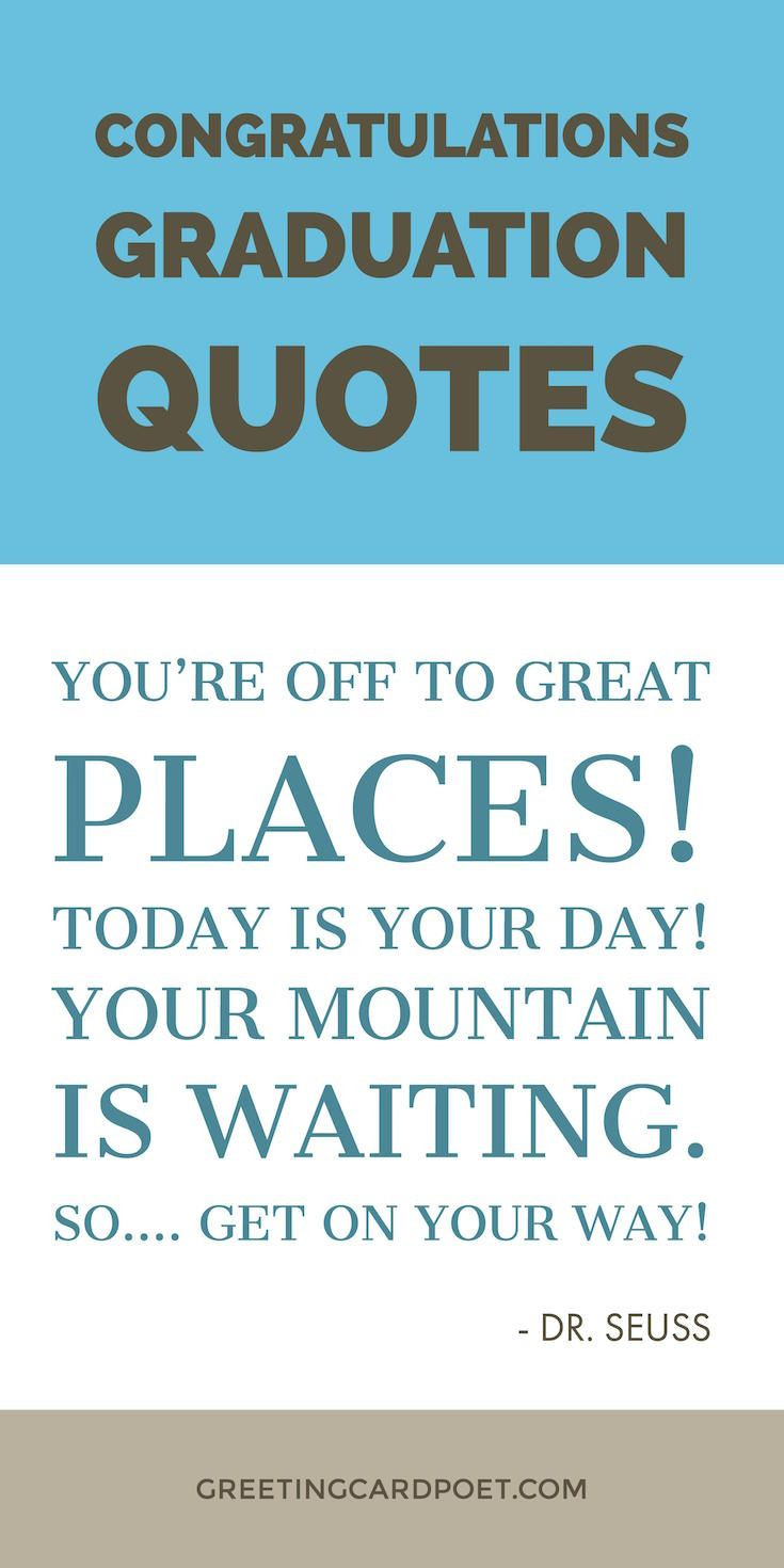 Graduation Quote  Congratulations Graduation Quotes Messages and Wishes
