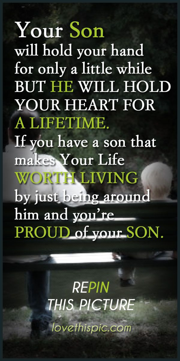 Graduation Quotes For Son From Mother  Parent To Son Graduation Quotes QuotesGram