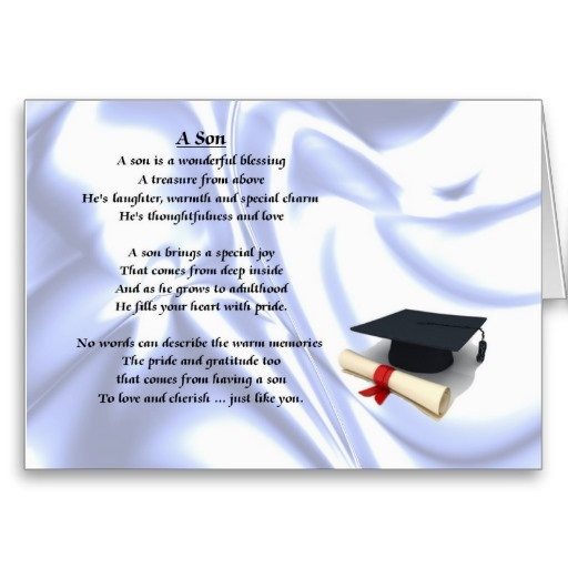 Graduation Quotes For Son From Mother  Son Graduation Quotes For Moms QuotesGram