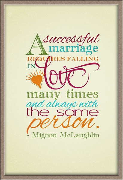 Great Marriage Quotes  Successful Marriage