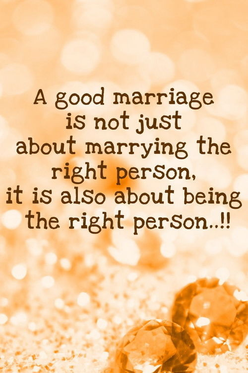 Great Marriage Quotes  A Good Marriage s and for