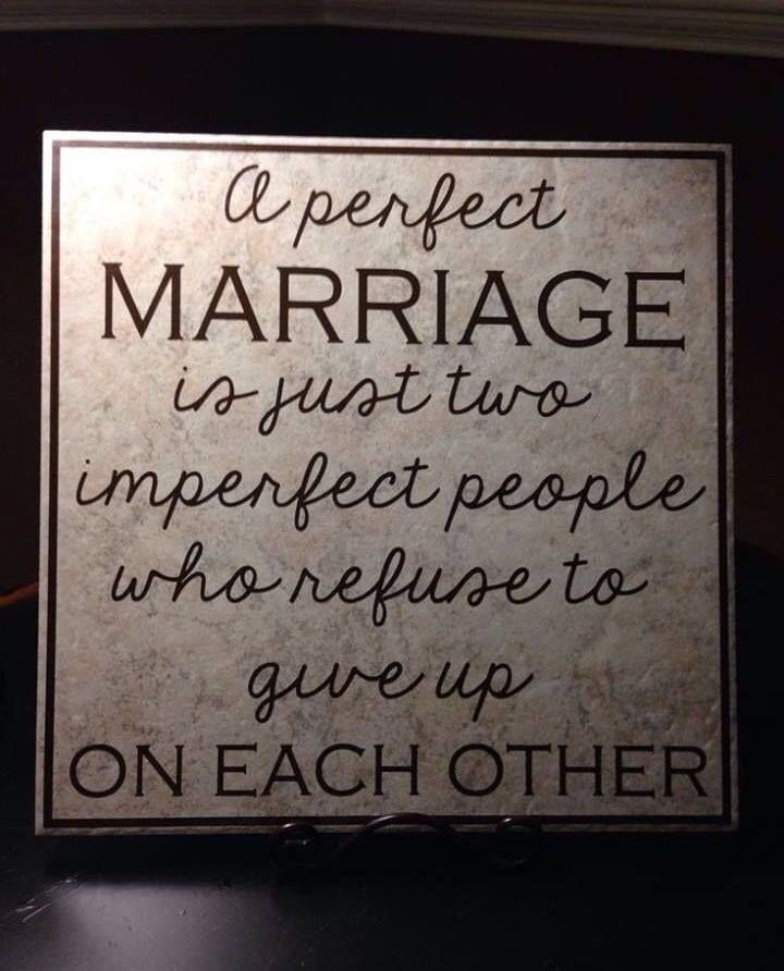 Great Marriage Quotes  So true A great marriage is not when the perfect