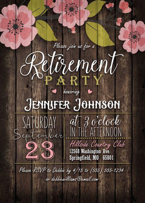 Great Retirement Party Ideas  25 unique Retirement parties ideas on Pinterest