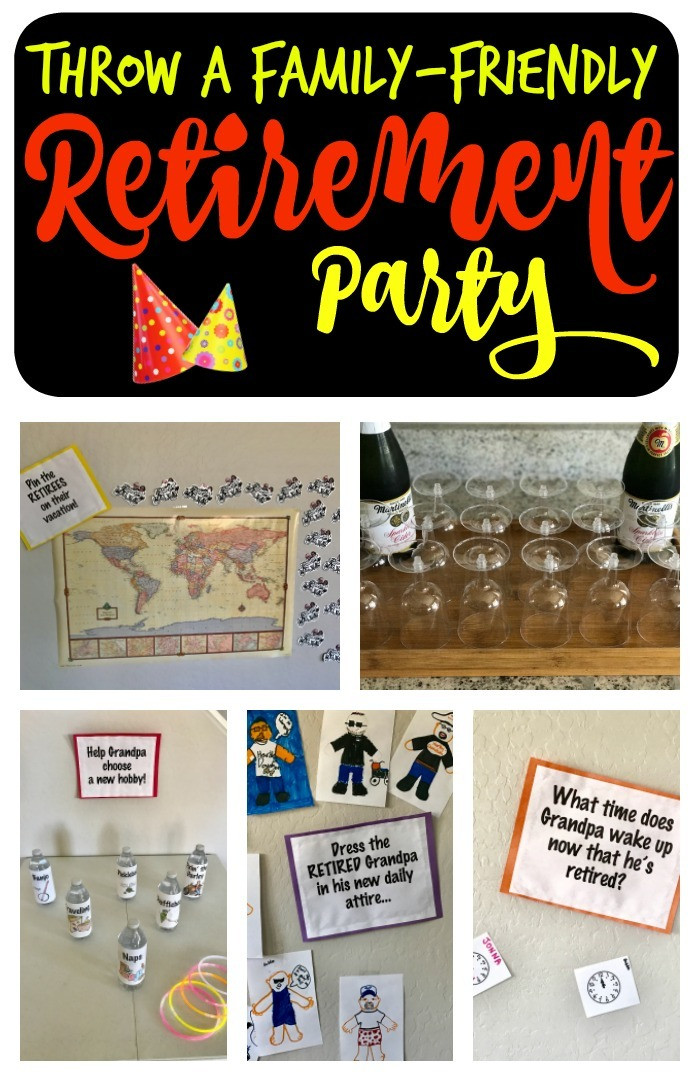 Great Retirement Party Ideas  Family Friendly Retirement Party Games & Ideas A Mom s Take