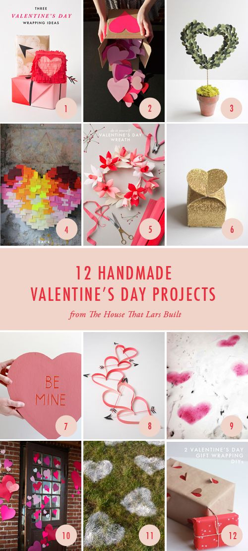 Great Valentine Gift Ideas  12 great projects for a homemade Valentine s Day