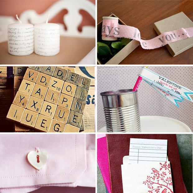 Great Valentine Gift Ideas  DIY Valentine s Day Gift Ideas