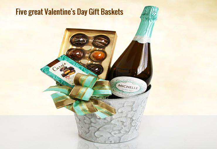 Great Valentine Gift Ideas  Five great Valentine s Day Gift Baskets