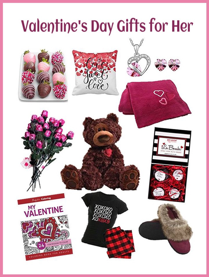 Great Valentines Gift Ideas For Her  Valentine s Day Gifts for Her Love My Big Happy Family